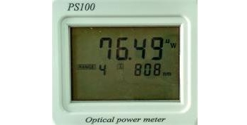 high precision photoeletric power meter testing result